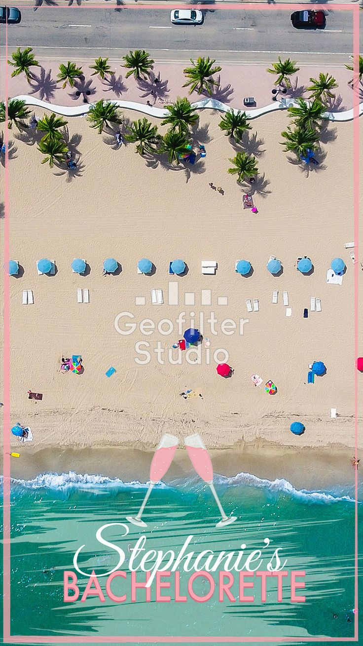 Do you have a Snapchat Geofilter for your Bachelorette party yet? We create 100% custom designed Snapchat Geofilters based on your unique needs! #bride #bachelorette #bacheloretteparty #wedding #geofilter #snapchat #snapchatfilter