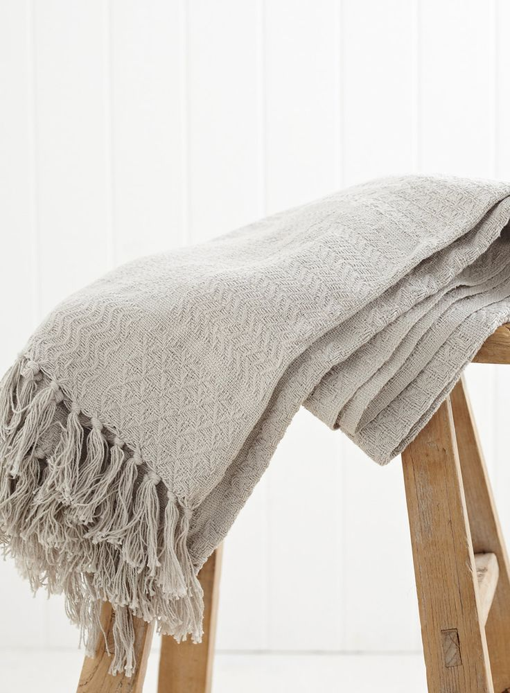 £15 Stone Essentials Throw - throws & bedspreads - Home, Lighting & Furniture - BHS