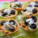 Game Day Snacks: Mini Mexican Chili Bites