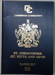 passport-st kits & nevis - R.a.s.b.c.