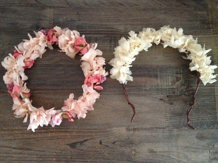 15 coronas de flores para novias (fotos)