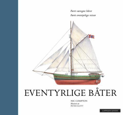 """""""Eventyrlige båter - førti særegne båter"""" av Nic Compton - 'A Book that's Published in 2017' - FINISHED  May 3rd"""