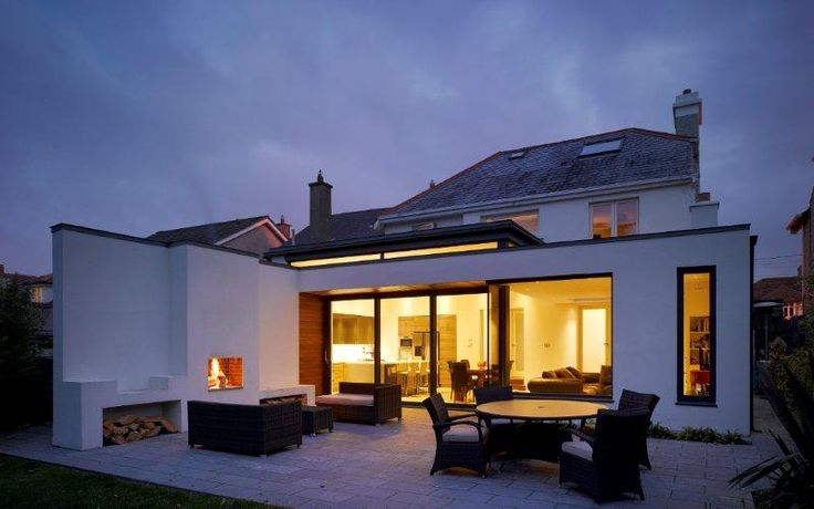 Extension to house in Dublin, Ireland by DMVF Architects.