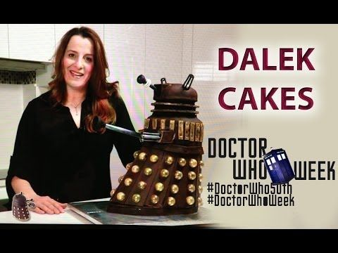 ▶ Dalek Cake Doctor Who 50th Anniversary HOW TO COOK THAT Doctor Who Week YouTube BBC - YouTube