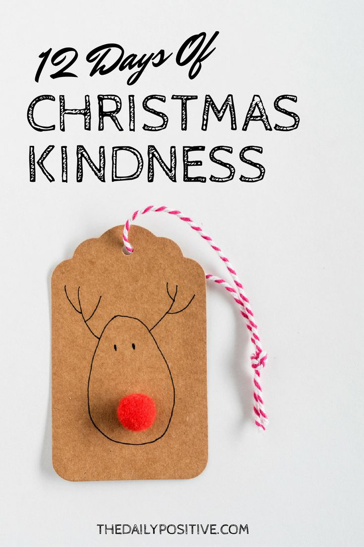 Amazing 12 Days Of Christmas Kindness Design Ideas