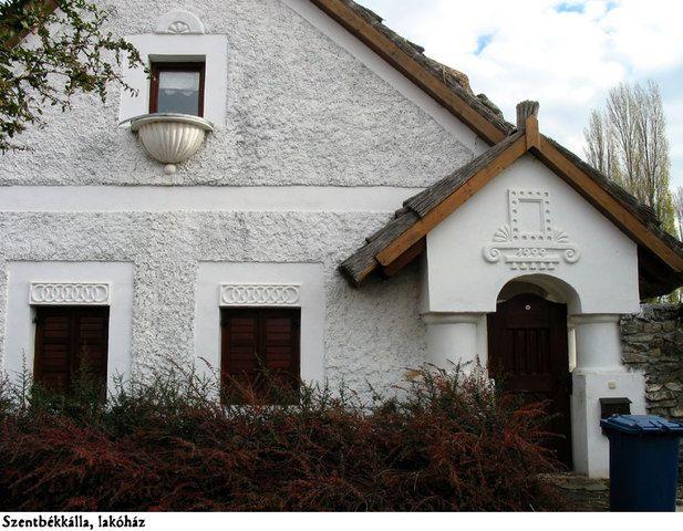 Szentbékkálla - lakóház