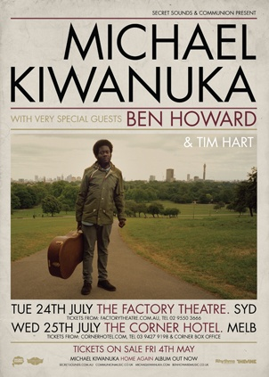 Communion Tour: Michael Kiwanuka w/ Ben Howard