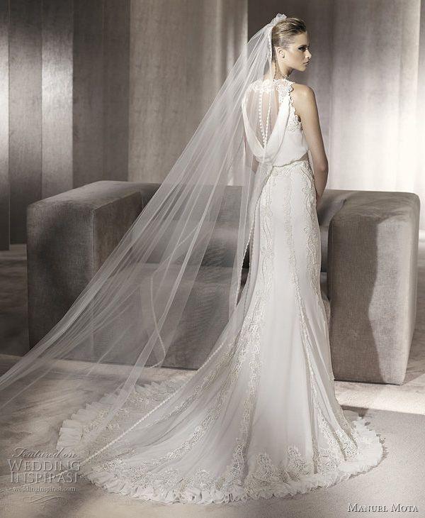Precioso vestido de #novia de Manuel Mota 2012 Collection / Gorgeous #wedding dress from the Manuel Mota 2012 Collection