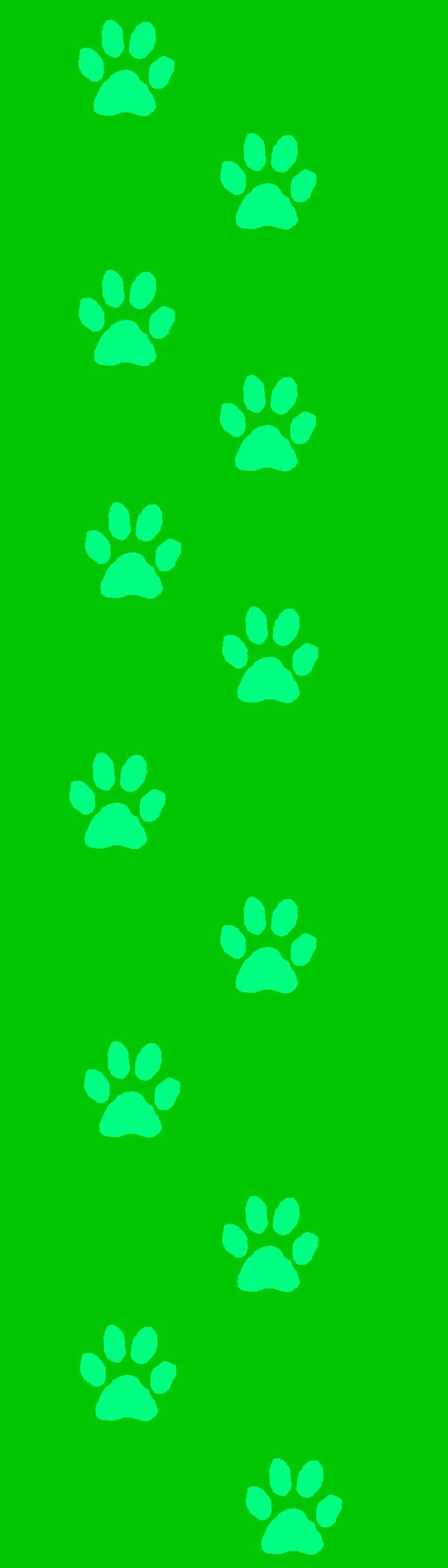 88 best images about paw prints on pinterest clip art - Dog print wallpaper ...