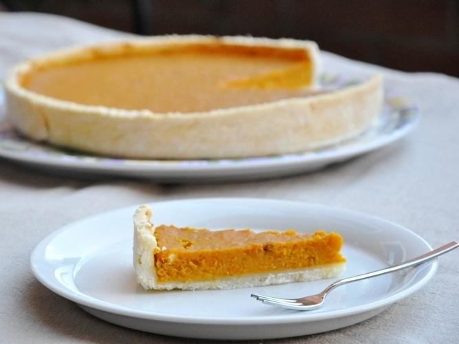 Gluten free pumpkin pie - Torta di zucca senza glutine