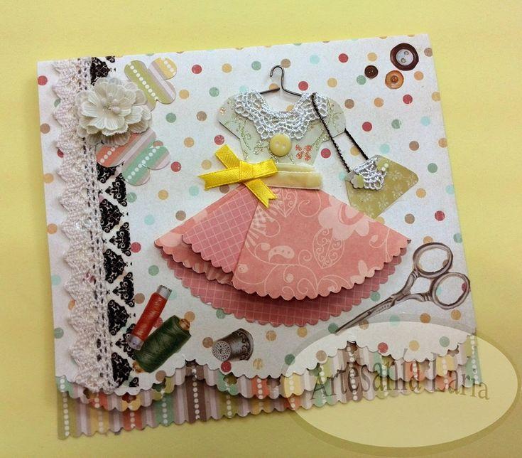 Scrapbook ideas -  Mother's Day!!  Ideas para álbumes y tarjetas para el Día de la Madre