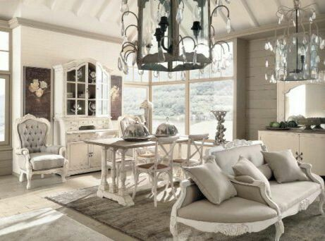17 best ideas about shabby chic salon on pinterest for Meuble style romantique