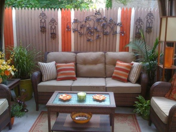 Small Inner City Patio   Patios U0026 Deck Designs   Decorating Ideas   HGTV  Rate My