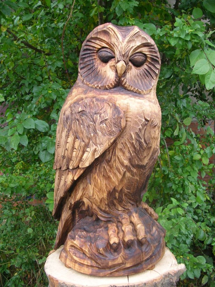 Best chainsaw birds images on pinterest carved wood