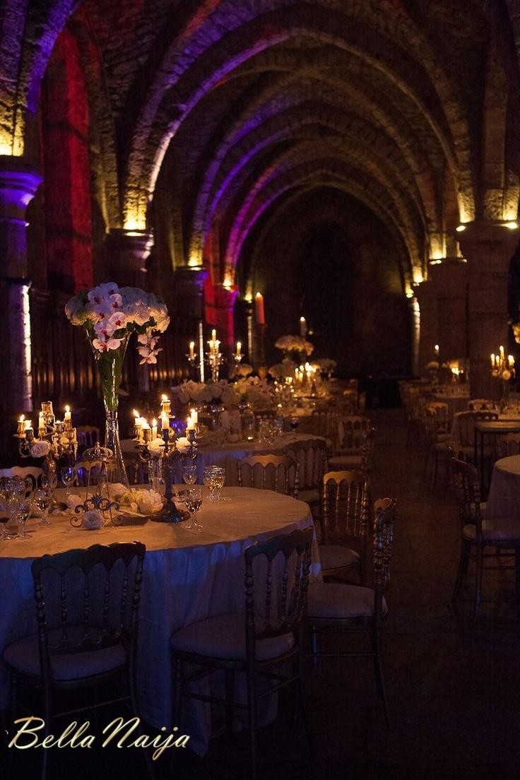Stephanie Okereke wedding. This decor is everything.