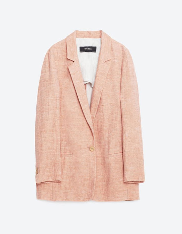veste rose zara on ose la veste rose elle