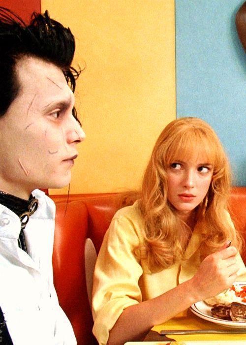 "Johnny & Winona in ""Edward Scissorhands"", directed by Tim Burton (1990)"