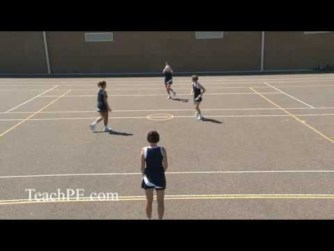 Double Lead | Netball Attacking Movement | Netball | Sports Coaching
