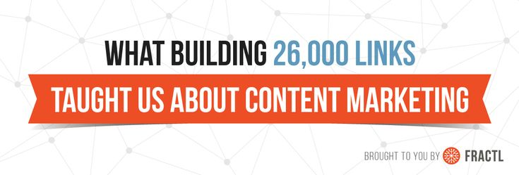 3 Surprising Lessons From Building 26000 Links