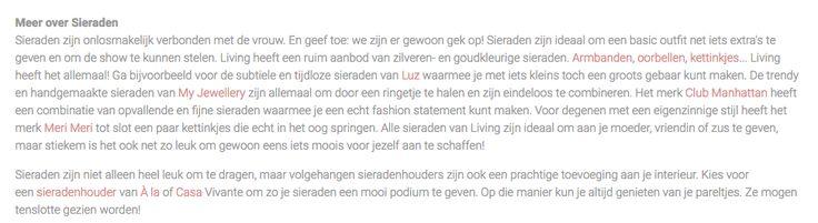Categorietekst living.nl