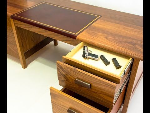 QLine Tactical Desk With Secret Hidden Compartments   YouTube