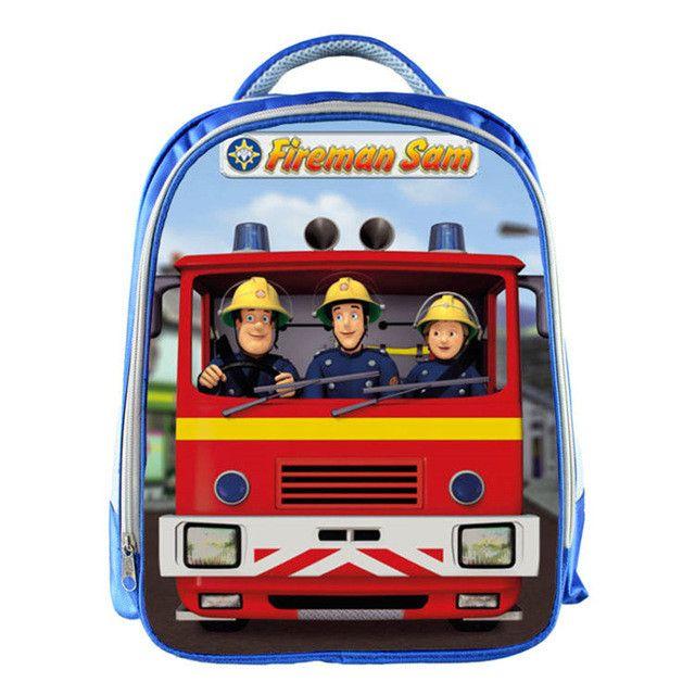 Fireman Sam School Bag backpack Children