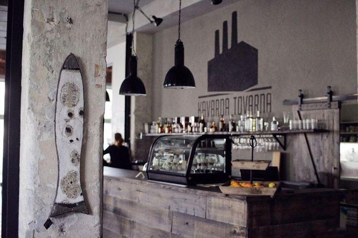 Kavárna - Kavárna Továrna Zlín