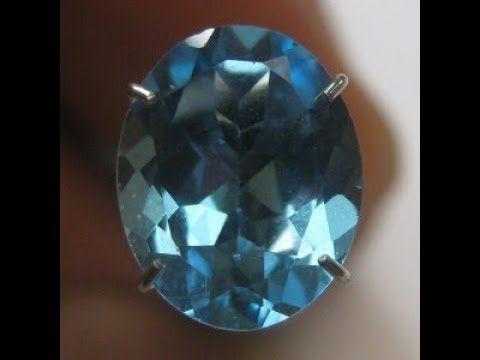 Batu Permata Natural Topaz Elegant Swiss Blue 2.84 Carat
