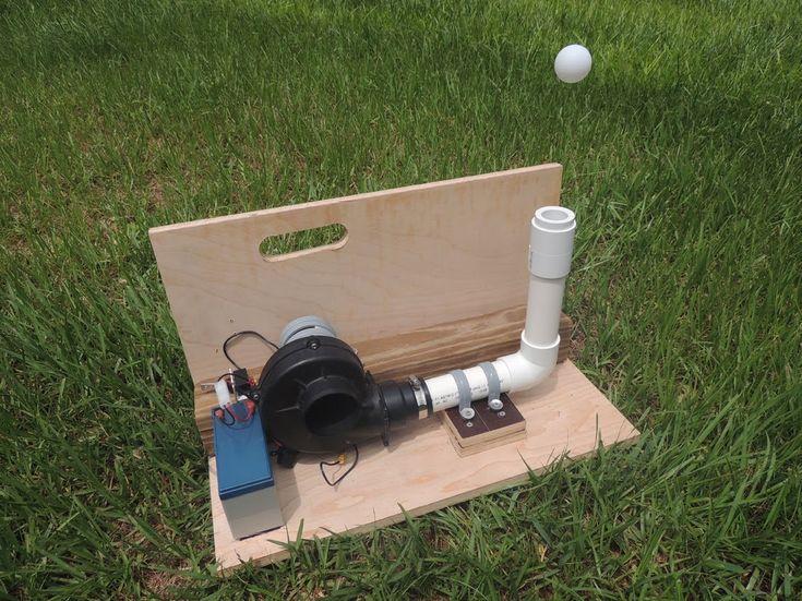 DIY Target (Floating Ping Pong Ball). Trick shot target.
