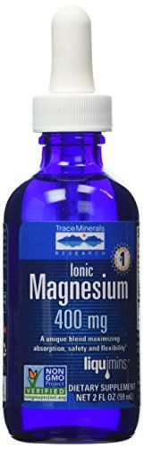 Trace Minerals Research Ionic Magnesium 400 Mg - 2 OZ Trace Minerals Research http://smile.amazon.com/dp/B000OLR1KC/ref=cm_sw_r_pi_dp_fKIWwb0DV9K15