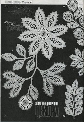 Duplet 92 Russian Crochet Patterns Magazine | eBay