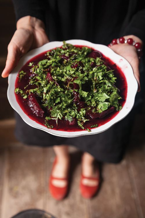 Georgian: Charkhlis Chogi (Beets in Tart Cherry Sauce) Recipe - Saveur.com