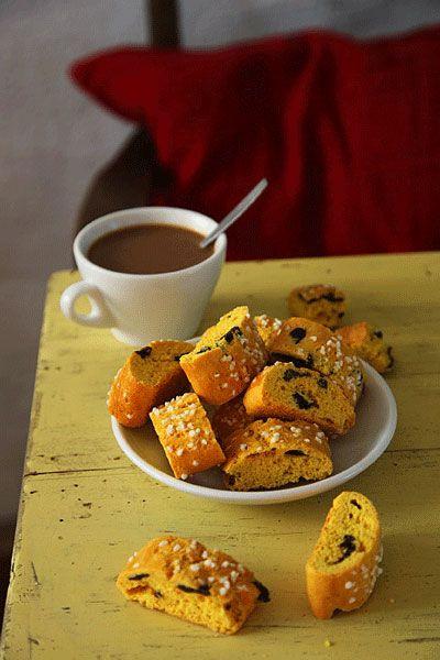 Saffron Biscotti | SAVEUR