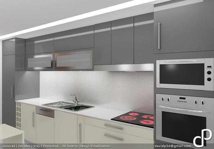 3D Interior Design Visualization - apartment renovation project / projecto de remodelação de apartamento, project/projecto: Decorangel