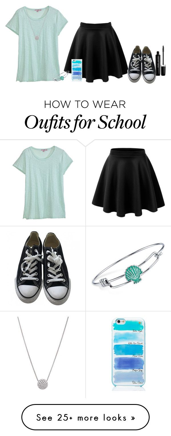 """""""Last day of school FINALLY!!"""" by morgan-628 on Polyvore featuring Calypso St. Barth, Converse, Disney, Kate Spade and Marc Jacobs"""