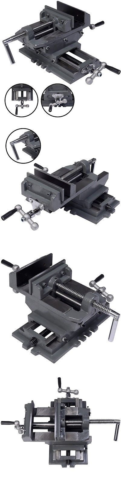 Clamps and Vises 20761: New 5 Cross Drill Press Vise X-Y Clamp Machine Slide Metal Milling 2 Way Hd -> BUY IT NOW ONLY: $45.99 on eBay!