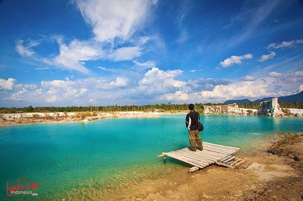 Blue Lake, Singkawang, Indonesia