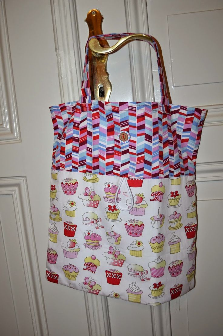Folding Shopping Bag ~ Stuff and Spice