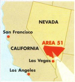 Groom Lake Air Force Base - Area 51