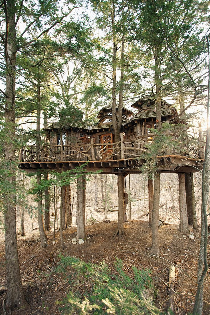 Cottages amp campground rentals riverview cottages campground jackman - 13 Of The World S Coolest Treehouses
