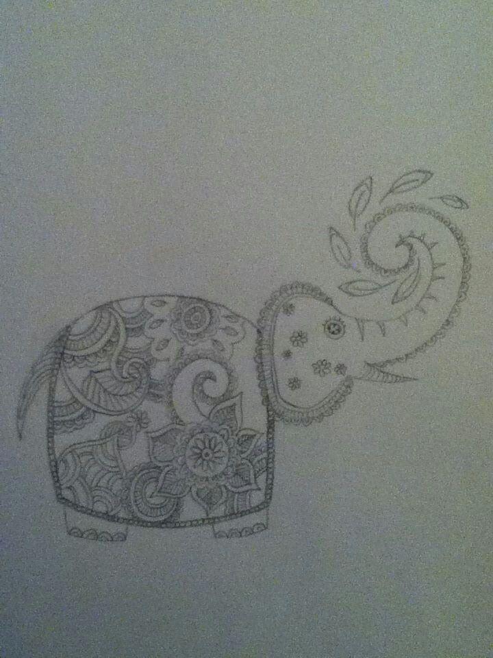 Henna olifant