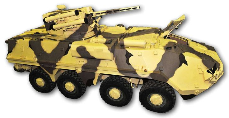 The BTR-4MV armoured personnel carrier is a representative of the BTR-4 family of vehicles.