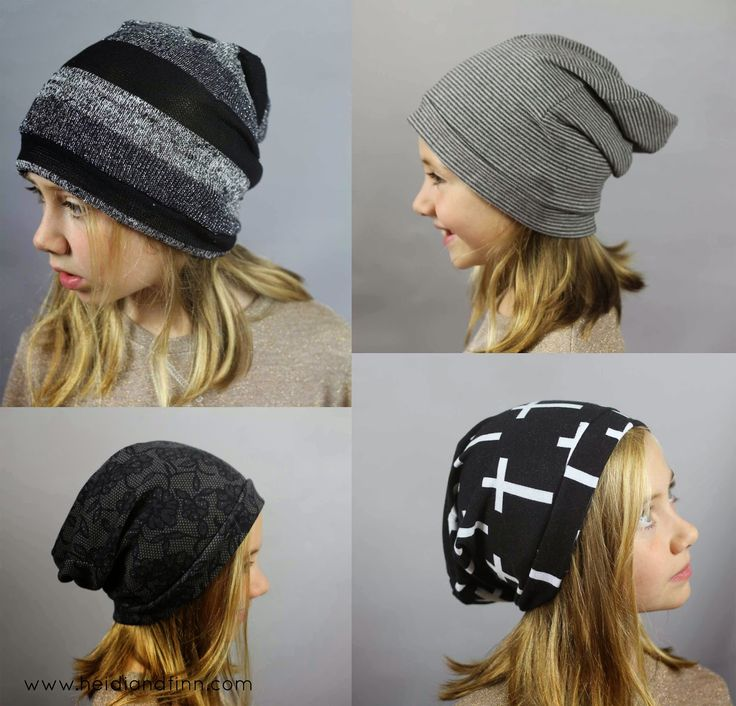Project 2 for kids clothes week - HATS! more specifically oh so cool slouchy beanies! Somehow my kids seem to lose about 10 hats each fal...