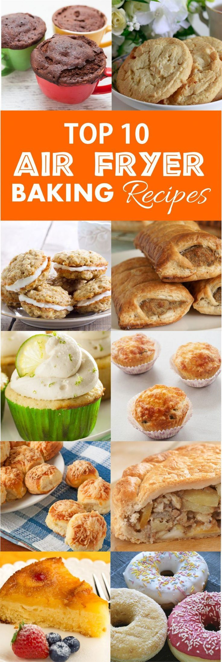 RecipeThis.com | Top 10 Air Fryer Baking Recipes