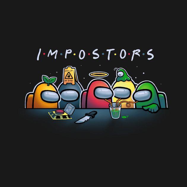Impostor Among Us Crewmates T Shirt The Shirt List Wallpaper Iphone Cute Cool Backgrounds Wallpapers Cute Patterns Wallpaper