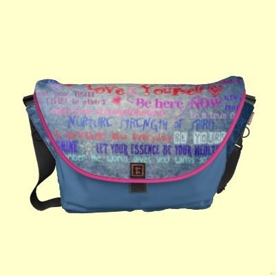 Women's Wisdom Courier Bag