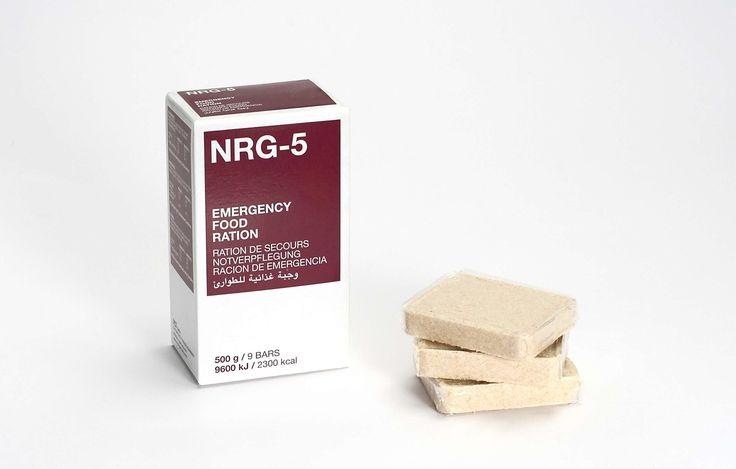 Notverpflegung, NRG-5, 1 Packung 500 g, (9 Riegel) Notration: Amazon.de: Lebensmittel & Getränke