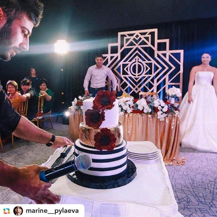 Шикарная свадьба в стиле Гетсби Маринэ и Эдика  шик, золото и роскошь…