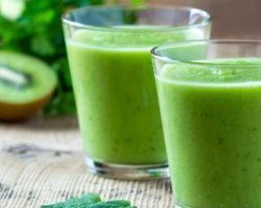 Smoothie anti-cellulite au thé vert, kiwis et citron MINCEUR
