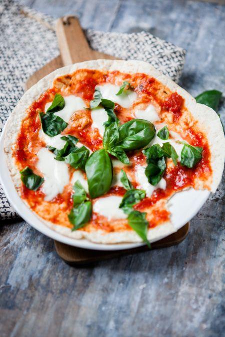 Blitzschnelle Pfannenpizza - mit nur 4 Zutaten